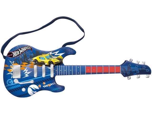 Imagem de Guitarra de Brinquedo Hot Wheels