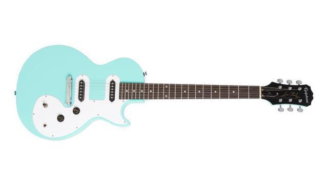 Imagem de Guitarra Epiphone Les Paul SL Turquoise 10030653