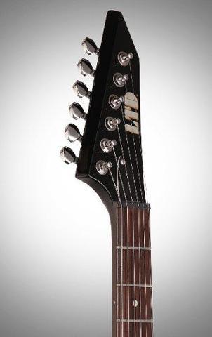 Imagem de Guitarra Esp Ltd Flying-v Lv50 Ltd Preta Viper 50