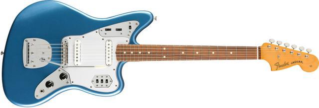 Imagem de Guitarra fender 014 1233 - 60s jaguar lacquer pf - 702 - lake placid blue