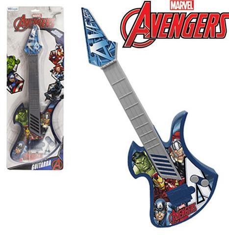 Imagem de Guitarra infantil acústica grande - vingadores / avengers