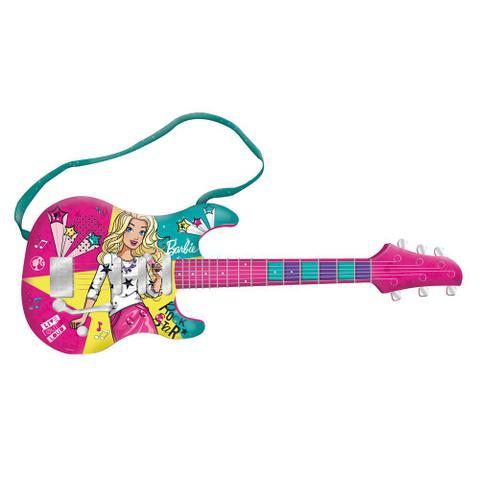 Imagem de Guitarra Musical com MP3 Player - Barbie - Guitarra Fabulosa - Modelo Novo - Fun