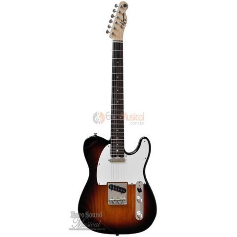 Imagem de Guitarra N Zaganin Tele Deluxe Sunburst