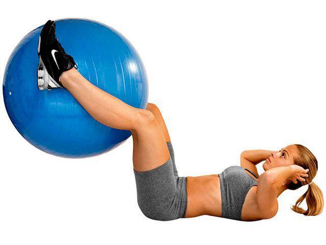 Imagem de Gym Ball com Bomba de Ar T9 Suporta até 300Kg