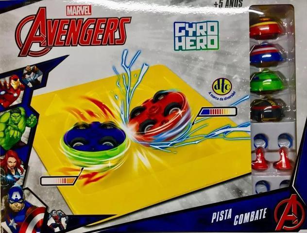 Imagem de Gyro Hero Marvel Vingadores  Pista de Combate - DTC