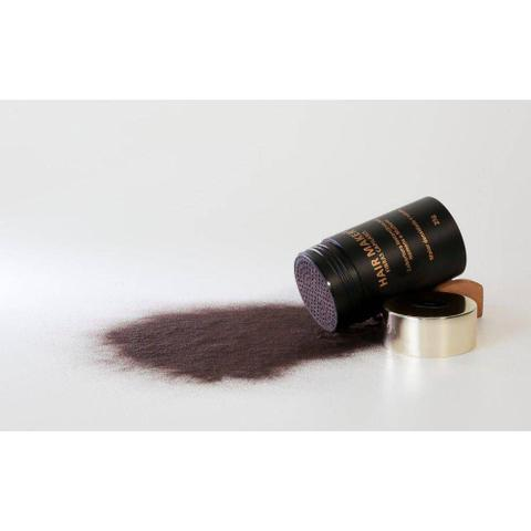 Imagem de Hair Maker Fibras Capilares 25 Gramas - Cor Castanho Escuro