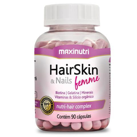 Imagem de HairSkin  Nails Femme 90 cápsulas