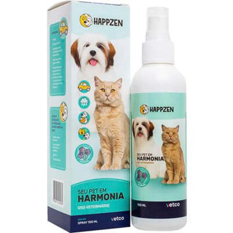 Imagem de Happzen Vetco Spray 100ml P/ Cães e Gatos