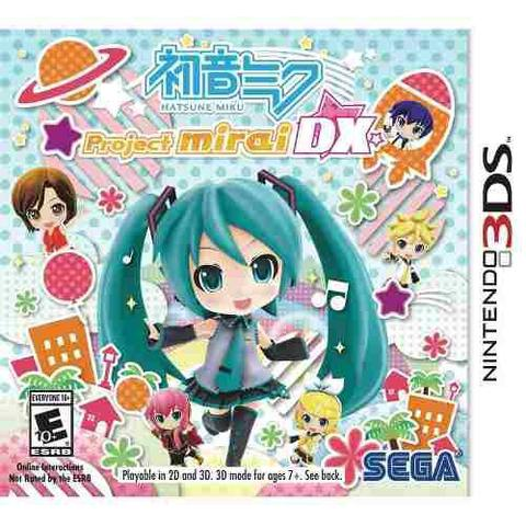 Jogo Hatsune Miku Project Mirai Dx - 3ds - Sega
