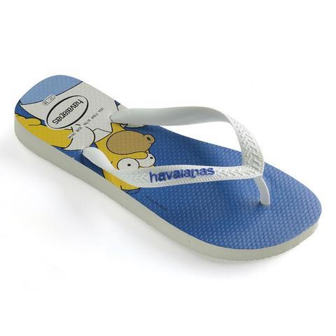 Imagem de Havaianas Simpsons Branco/Branco