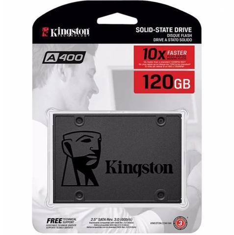 Imagem de Hd 2,5 Para Notebook Ssd 120gb Sata 3 Kingston A400