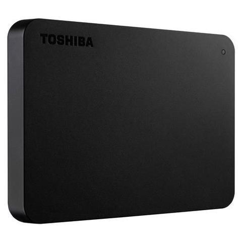 Imagem de HD Externo Portátil Toshiba Canvio Basics 2TB HDTB420XK3AA USB 3.0 - Preto