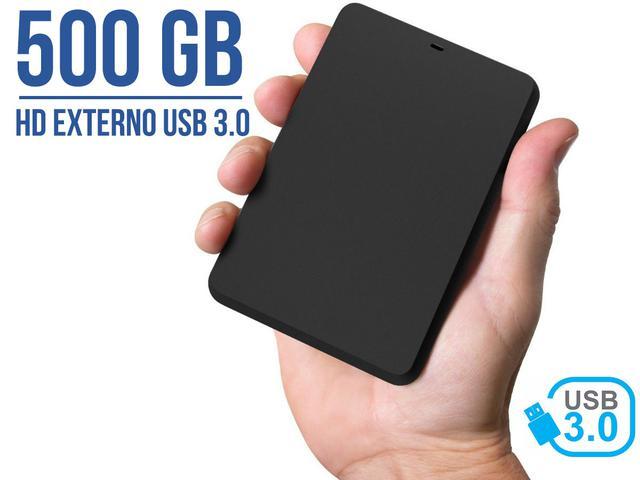Imagem de HD Externo Portátil YessTech 500Gb USB 3.0 USB 2.0