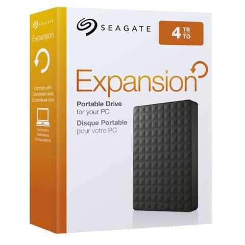 Imagem de HD Externo Seagate 4TB Expansion