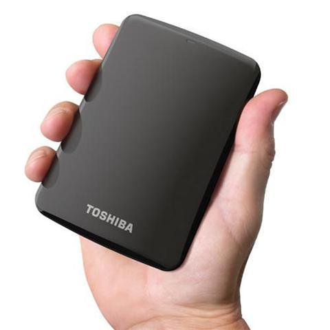 Imagem de HD Externo Toshiba 1TB Portátil Canvio Connect Preto USB 3.0 - HDTB410XK3AA