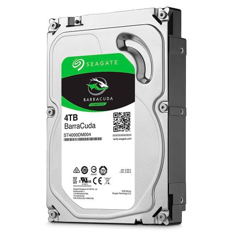 Imagem de Hd Interno 4tb Sata 3 5400rpm 3,5'' Barracuda ST4000DM004 Seagate