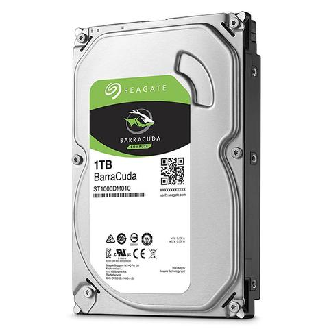 Imagem de HD Interno Seagate BarraCuda 1TB 64MB SATA 6GB/s 7200 RPM ST1000DM010