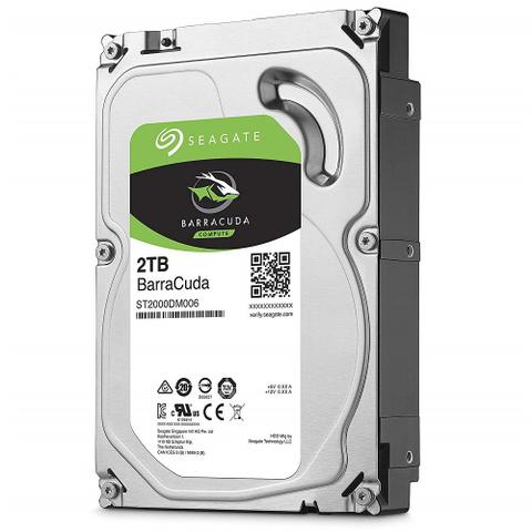 "Imagem de HD Seagate Barracuda 3,5"" 2TB 2 Tera PC Desktop 64MB Sata 6 7200rpm ST2000DM006"