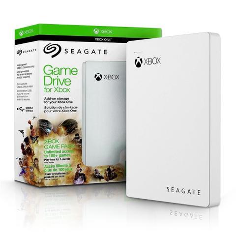 Imagem de HD Seagate GameDrive para Xbox 2TB USB - Branco