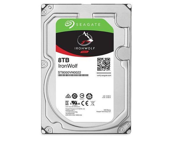 Imagem de HD Seagate Ironwolf NAS 8TB 7200RPM 256MB SATA 6GB/S - ST8000VN0022