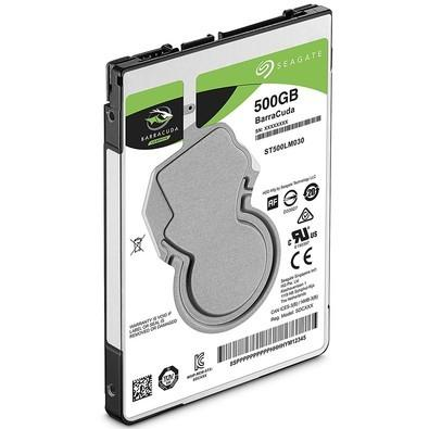 Imagem de HD Seagate SATA 2,5 p/ Notebook Laptop BarraCuda 500GB 5400RPM SATA 6.0Gb/s - ST500LM030