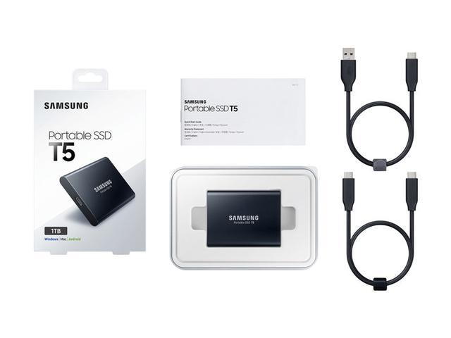 Imagem de HD SSD 1TB Samsung portable SSD T5 - MU-PA1T0B