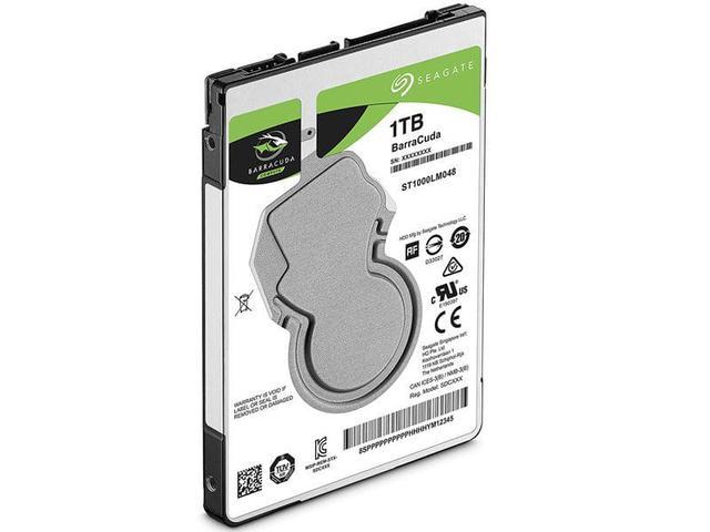 Imagem de Hdd 2,5 notebook / desktop seagate st1000lm048  barracuda 1 tera  5400rpm 128mb sata 6gb/s