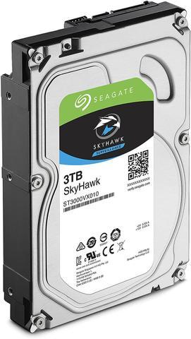 Imagem de HDD Seagate SKYHAWK 3 TB P/ Seguranca / Vigilancia / DVR - ST3000VX010