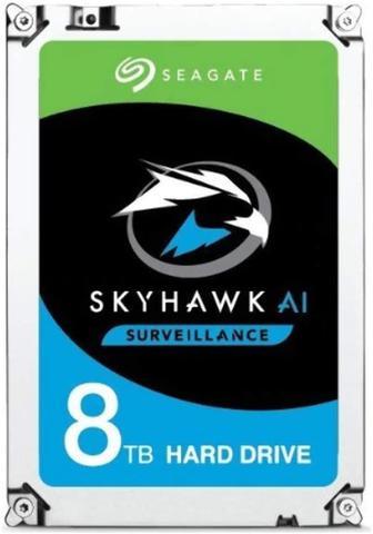 Imagem de Hdd seagate skyhawk 8 tb p/ seguranca / vigilancia / dvr - st8000ve000