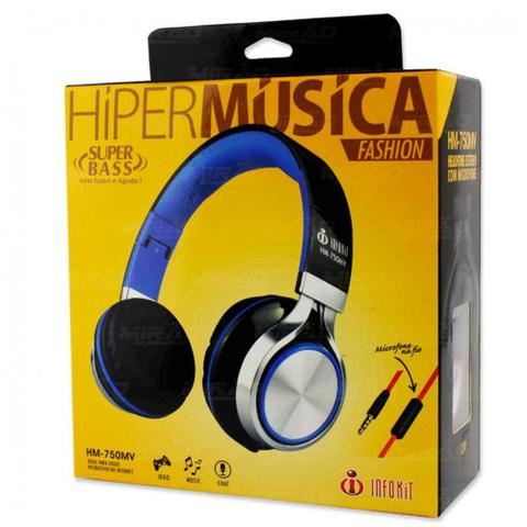 Imagem de Headphone C/ Microfone Para Pc, Notebook E Smartphone
