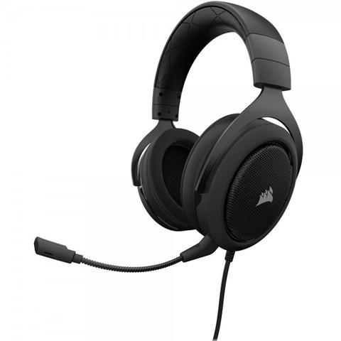 Imagem de Headphone Corsair Gaming Hs50 Black Carbon P2 Estéreo - CA-9011170-NA