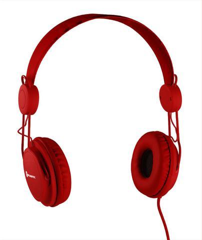 Fone de Ouvido Headphone Gt Soul Colors Vermelho Goldentec