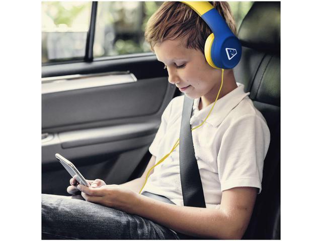 Fone de Ouvido Headset Safe Kids ELG