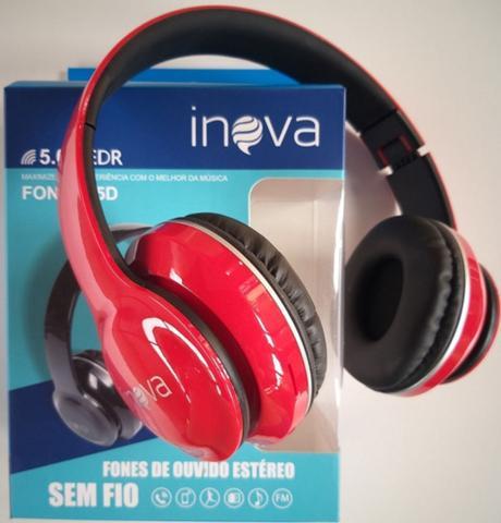 Imagem de headphone inova fones de ouvido estéreo bluetooth sem fio