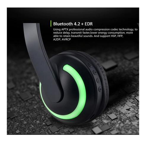 Imagem de Headphone Orelha Gato Ear Cat Fone Ouvido Led Bluetooth