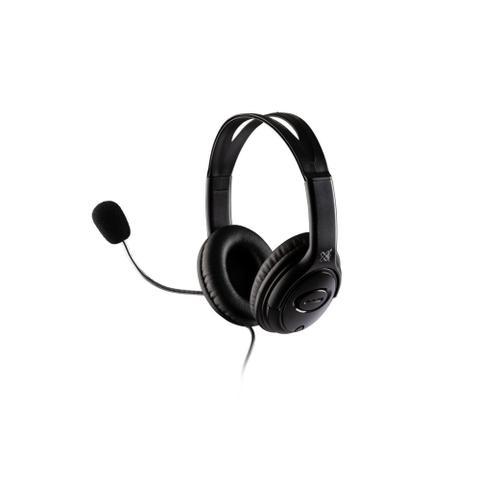 Imagem de Headset Basic Com Microfone USB cabo 1,50 metros Preto MaxPrint