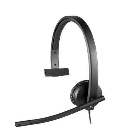 Imagem de Headset C/ Microfone H570E Mono USB 981-000570 Logitech