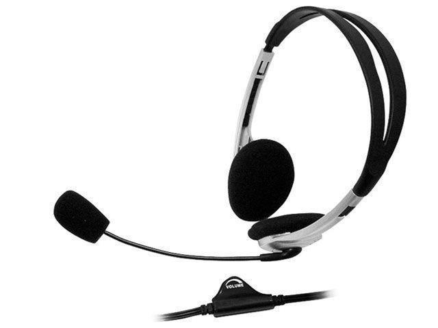 Imagem de Headset com Controle de Volume com cabo 1,80m P2 - Bright 0010