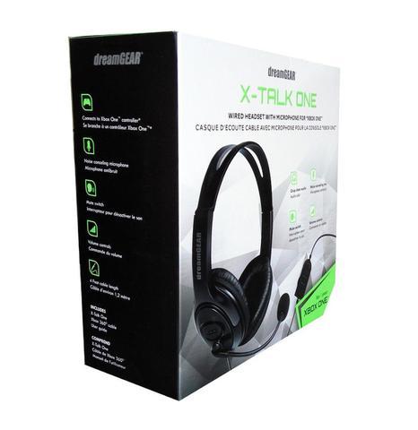 Imagem de Headset Dreamgear X-Talk Gaming Xbox One Preto