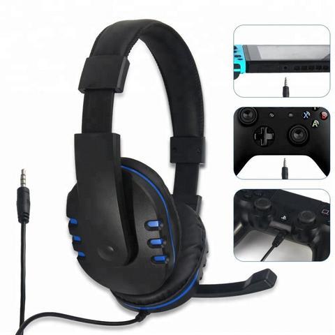 Imagem de Headset Fone De Ouvido Para Playstation 4 Ps4 Series, Xbox One Séries E Nintendo Switch Dobe