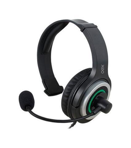 Fone de Ouvido Headset Gamer Army Verde Oex Hs408
