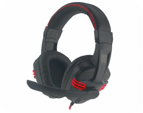Fone de Ouvido Headset Gamer Preto Com Vermelho K-mex Ars-1080