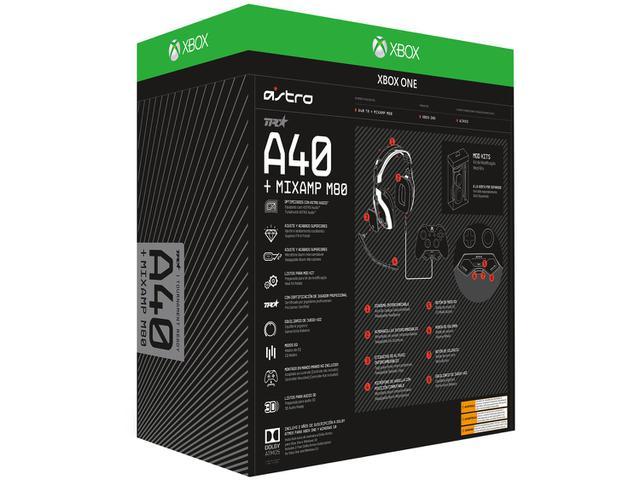 Imagem de Headset Gamer Astro A40 TR + Mixamp M80