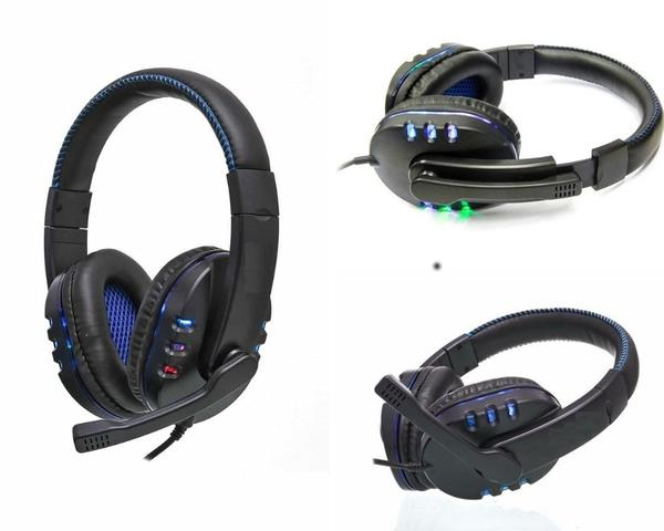 Imagem de Headset Gamer Barato Fone Com Microfone Iluminação Led Usb 2.0 Para PC PS4 Notebook