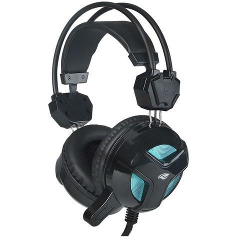 Fone de Ouvido Headset Gamer Blackbird Preto C3 Tech Phg110bk