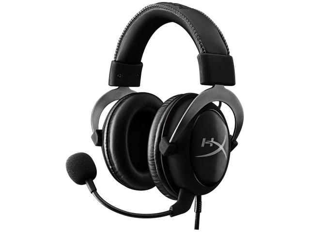 Fone de Ouvido Headset Gamer Cloud Ii Preto e Cinza Hyperx Khx-hscp-gm