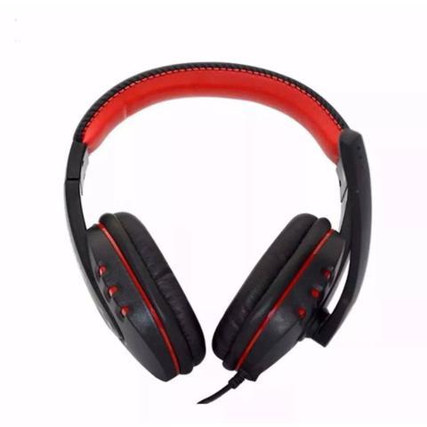 Imagem de Headset Gamer Stereo com Microfone Usb Controle Volume para Pc Notebook Playstation Laptop