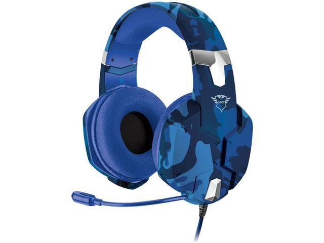 Fone de Ouvido Headset Gamer Carus Azul Trust Gxt322b