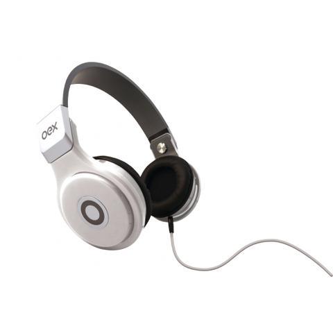 Fone de Ouvido Headphone Com Microfone Groove Branco Oex Hp102