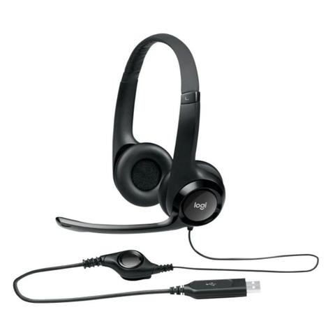 Imagem de Headset Logitech H390 Usb 981-000014